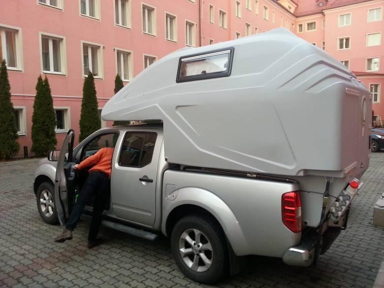 cellule pick up xplo campers l 39 ext rieur xplo campers. Black Bedroom Furniture Sets. Home Design Ideas