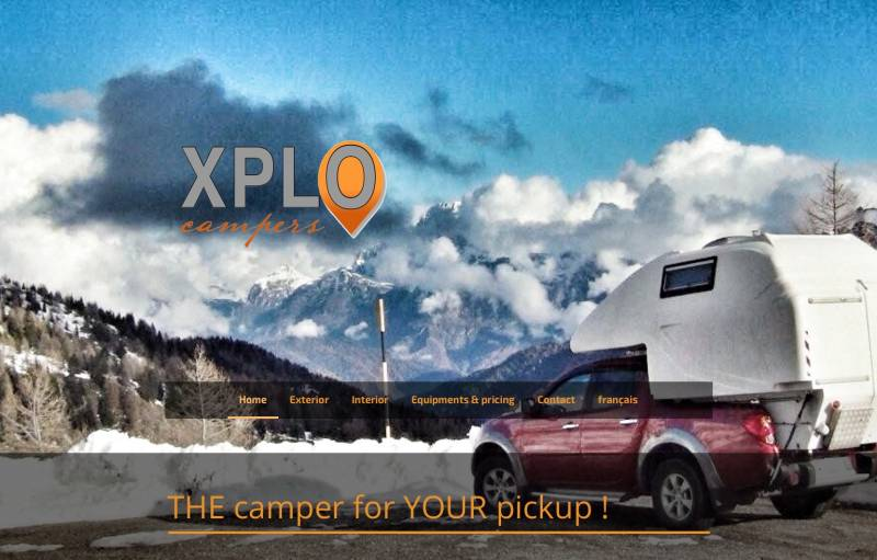 XPLO Campers: english website www.xplocampers.com